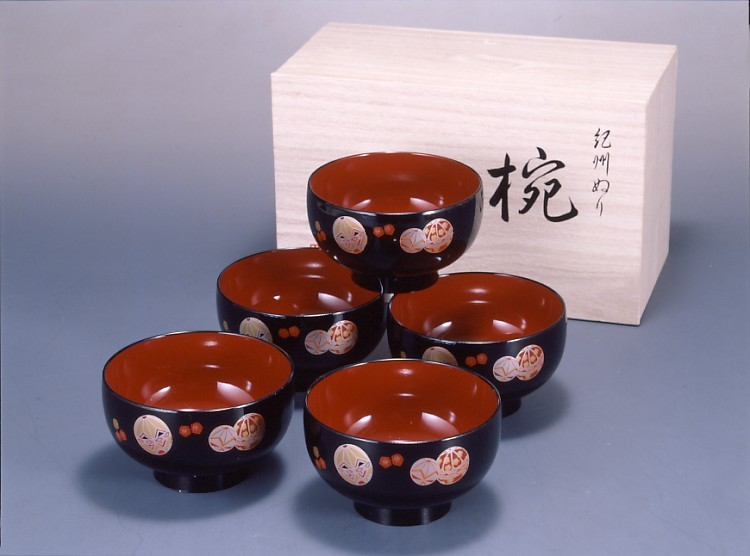 汁椀手まり(5客組)