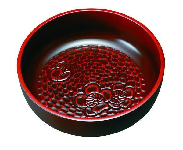 画像1: 菓子鉢 鎌倉 梅彫 (1)