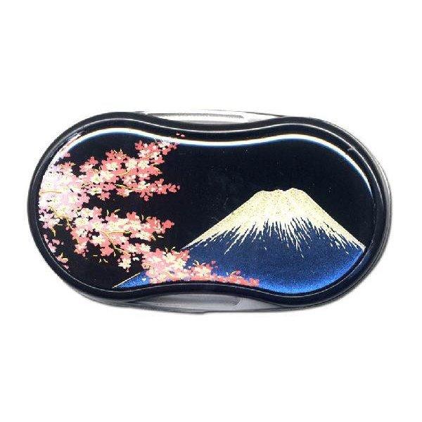 画像1: 蒔絵 LED ルーペ  富士と桜 (1)